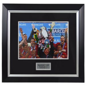 Alex Ferguson Framed Signed Photo