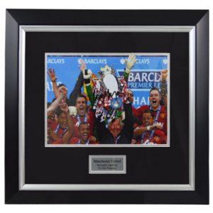 Alex Ferguson Framed Signed Photo
