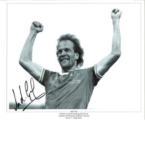 Andy Gray Signed Photo