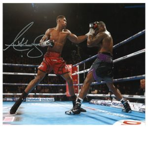 Anthony Joshua Signed Photo – Vs Dillian Whyte