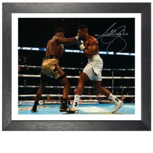 Anthony Joshua Framed Signed Photo