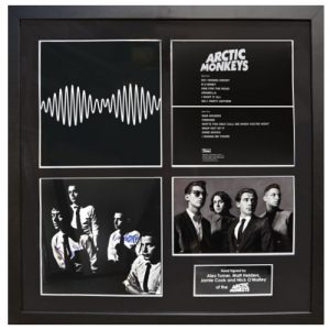 Arctic Monkeys Framed Signed Display