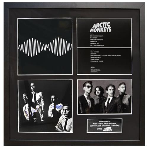 Arctic Monkeys Framed Signed Display