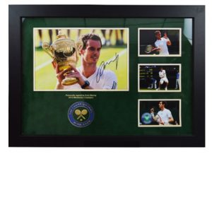 Andy Murray Framed Signed Display