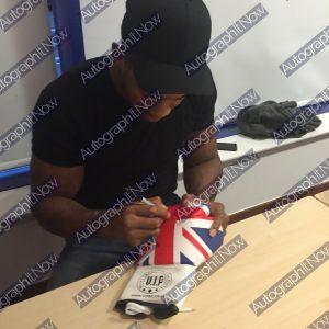 Anthony Joshua Signed Glove (Union Jack)