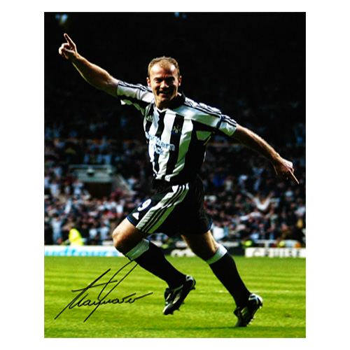 Alan Shearer Signed Photo