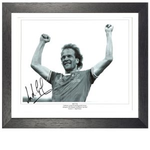 Andy Gray Framed Signed Photo