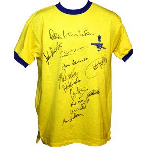 Arsenal 1971 Away Shirt Signed by 12