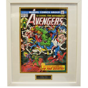 The Avengers Framed Issue 118 Print signed by Stan Lee