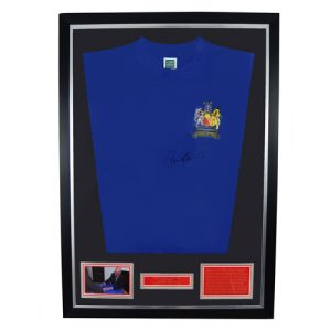 Bobby Charlton Framed Signed Manchester United Shirt
