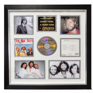 Bee Gees Framed Signed Display
