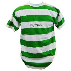 Billy McNeill Signed Celtic Shirt