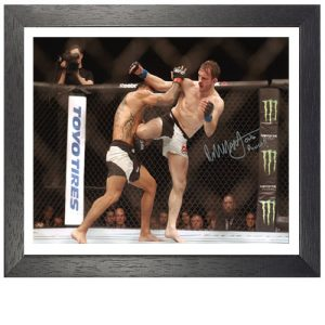Brad Pickett Framed Signed Photo