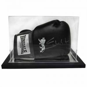 Chris Eubank Jr Signed Glove in an Acrylic Case