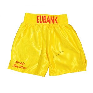Chris Eubank Signed Boxing Shorts