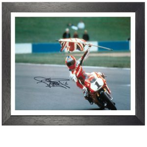 Carl Fogarty Framed Signed Photo