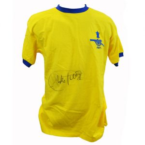 Charlie George signed 1971 Arsenal Shirt
