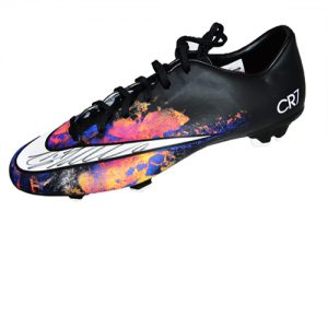 Cristiano Ronaldo Signed Football Boot - Nike Mercurial Victory CR7