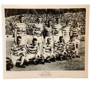 Celtic 1967 Photo signed by 7