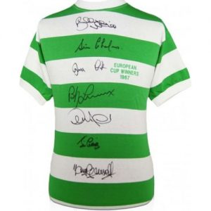 Celtic F.C Signed Shirt by 7