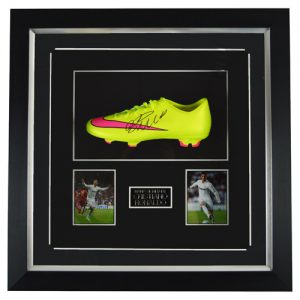 Cristiano Ronaldo Framed Signed Football Boot