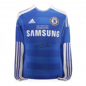 Didier Drogba Signed Chelsea Shirt (2012 Champions League Final Shirt)