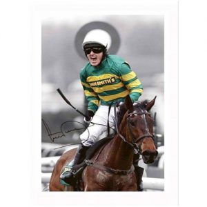 Tony McCoy Signed Photo - Don't Push It