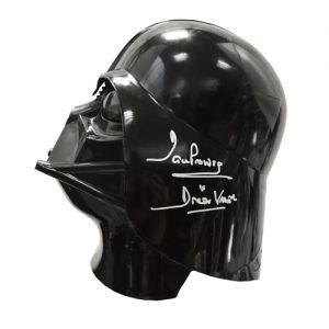 Star Wars Darth Vader Signed Helmet by Dave Prowse