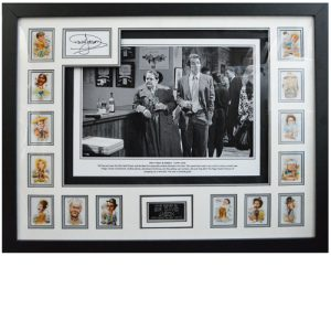 David Jason Framed Signed Only Fools & Horses Display