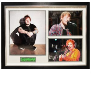 Ed Sheeran Framed Signed Display