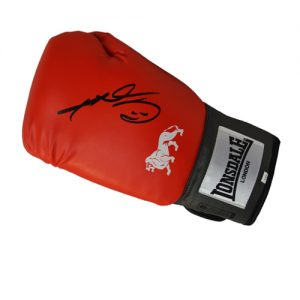 Sugar Ray Leonard Signed Boxing Glove