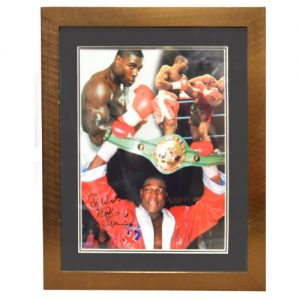Frank Bruno Framed Signed Photo