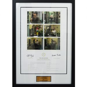 Fawlty Towers Framed Signed Display (John Cleese & Andrew Sachs)