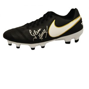 Glenn Hoddle Signed Football Boot