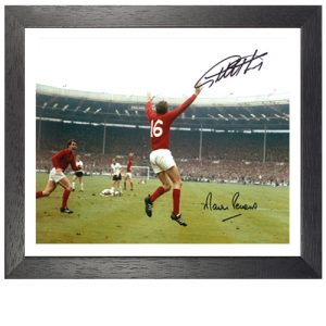 Geoff Hurst & Martin Peters Framed Signed Photo