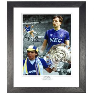 Graeme Sharp Framed Signed Photo