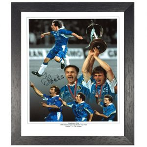 Gianfranco Zola Framed Signed Photo Montage
