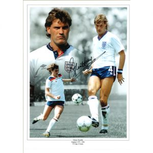 Glenn Hoddle Signed Photo Montage