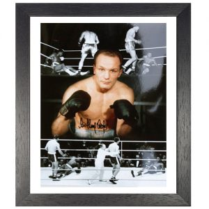 Henry Cooper Framed Signed Photo