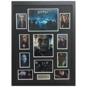 Daniel Radcliffe Framed Signed Harry Potter Display