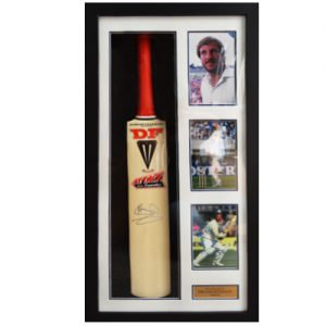 Ian Botham Framed Signed Cricket Bat