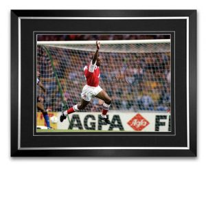 Ian Wright Framed Signed Photo