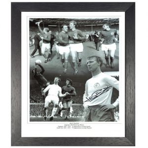 Jack Charlton Framed Signed Photo Montage