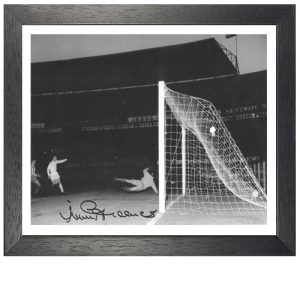 Jimmy Greaves Framed Signed Photo