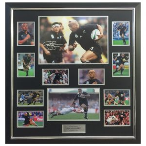 Jonah Lomu Framed Signed Display