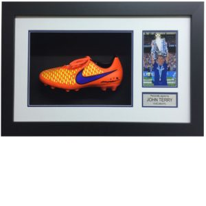 John Terry Framed Signed Football Boot