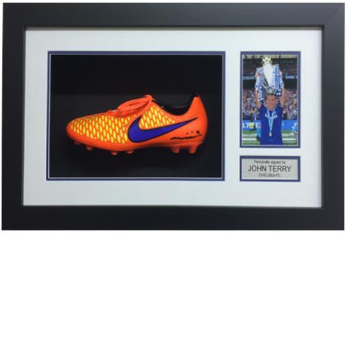 John Terry Framed Signed Football Boot