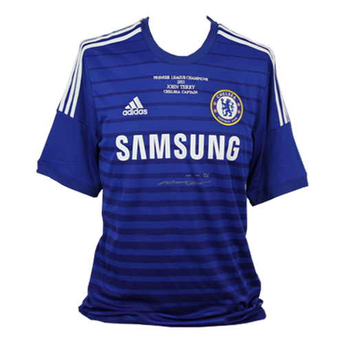 John Terry Front Signed Chelsea Shirt