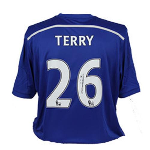 John Terry Signed Chelsea Shirt (2014-2015)