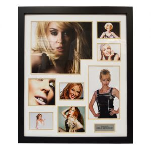 Kylie Minogue Framed Signed Display